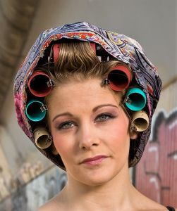 Curlers we wore in the sixtoes